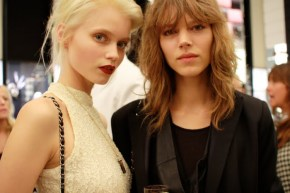 abbey lee kershaw freja beha erichsen new york 2010 chanel
